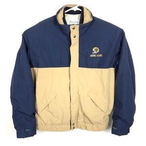 Vtg Forresters Gore-Tex XL Jacket Notre Dame